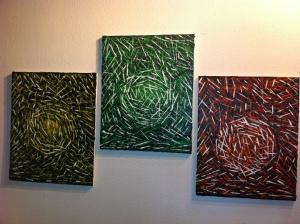 Seasons- Abstract Painting