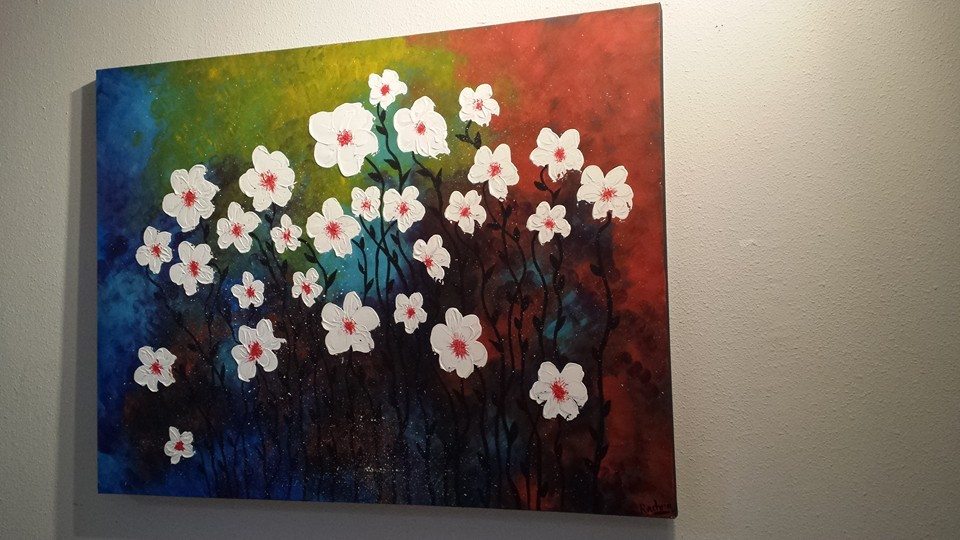 Acrylic on Canvas;36'x48'